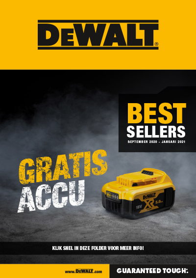 DeWalt best sellers 09/20 - 01/21