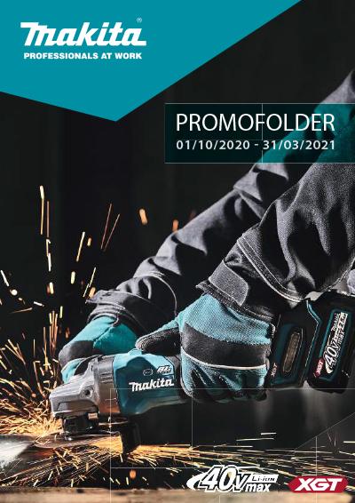 MAKITA promofolder 10/2020 - 03/2021