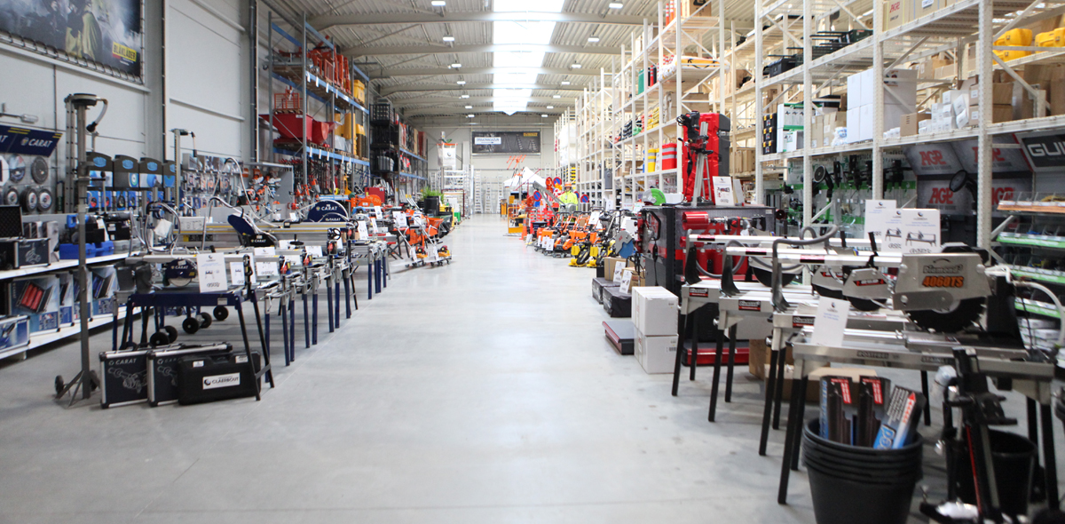 Grootvakhandel voor bouw, industrie en technische diensten
